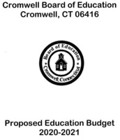 BOE Proposed Budget 2020-2021