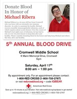 5th Annual Blood Drive